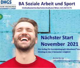 Bachelor Soziale Arbeit und Sport